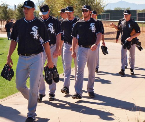 Chicago White Sox Spring Training walk of fame