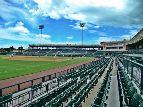 Ed Smith Stadium seats