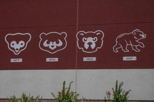Sloan Park Chicago Cubs Spring Training Logo History