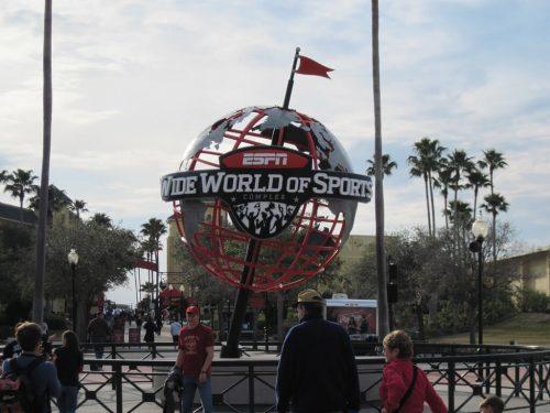Champion Stadium Wide World of Sports Sculpture