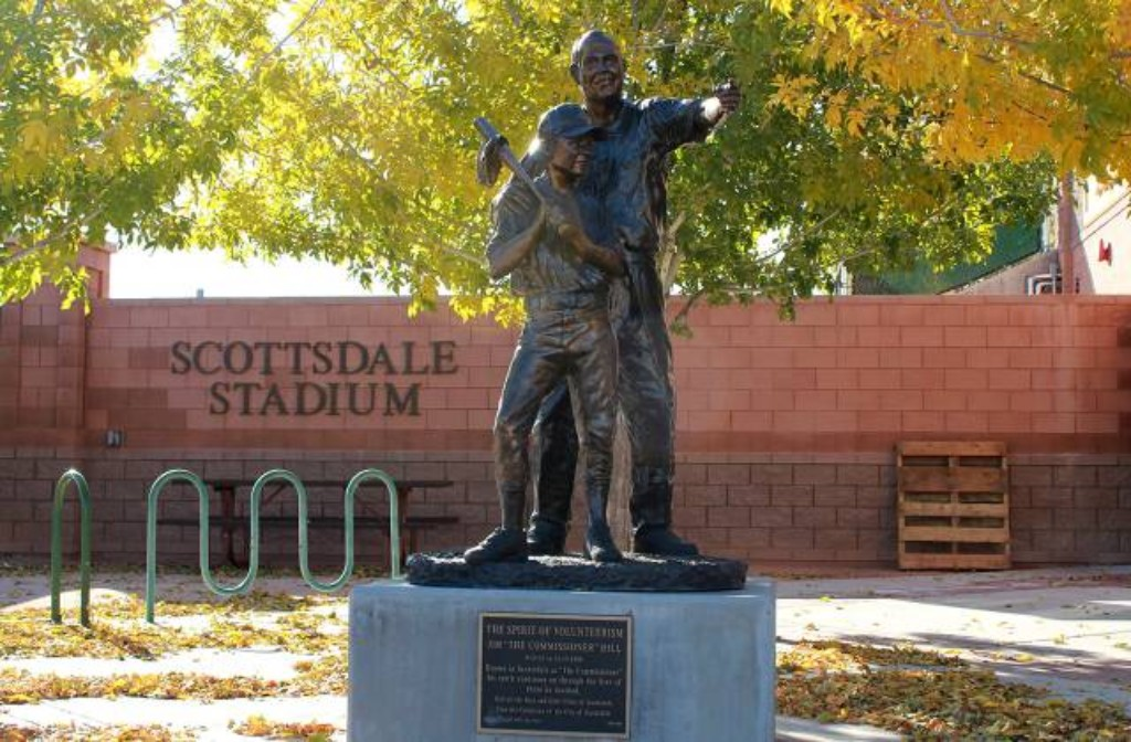 Spirit of Volunteerism statue
