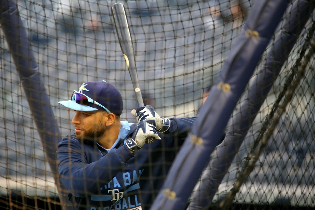 Tampa Bay Rays practice