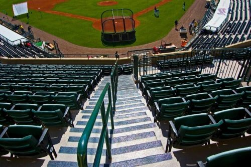 On Field Spectator Experience Champion Stadium