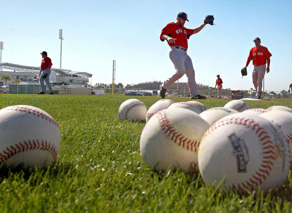 Boston Red Sox Spring Training Practices