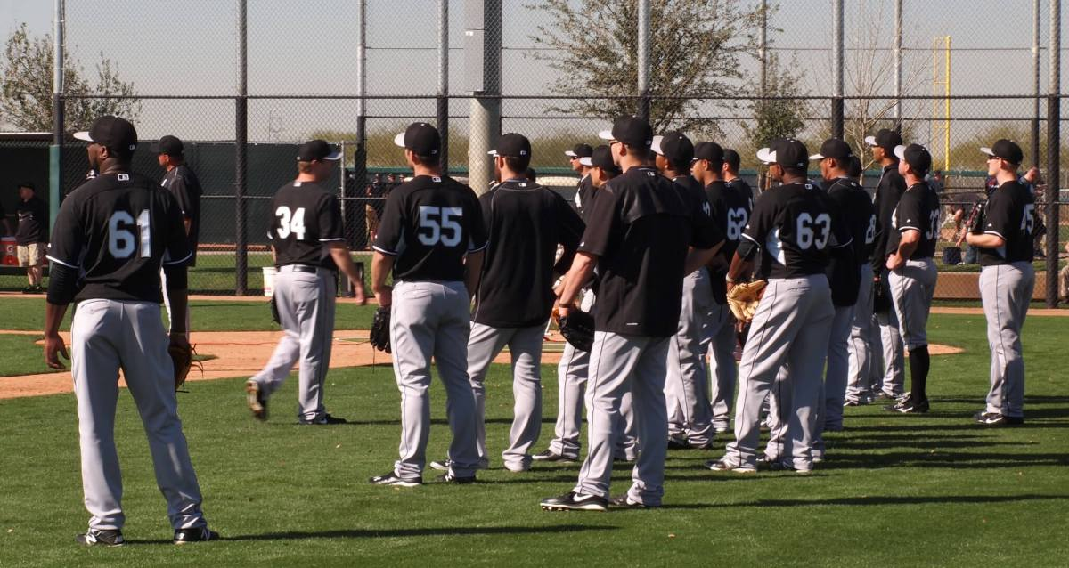 Camelback Ranch Chicago White Sox Spring Training practices
