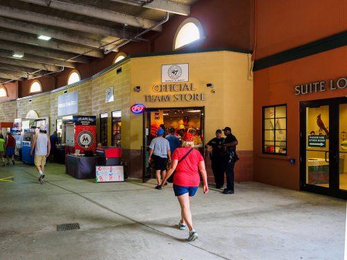 Roger Dean Stadium official team store