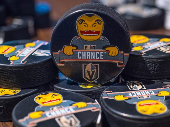Chance hockey puck
