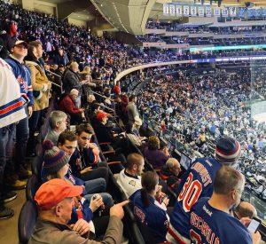 fans Madison Square Garden