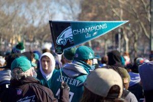 Philadelphia Eagles fans Super Bowl Parade