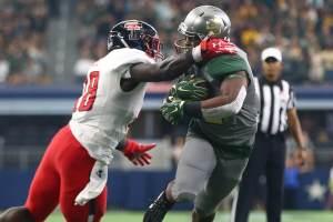 Baylor Bears vs Texas Tech Red Raiders football game