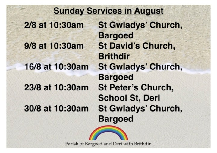 August Services 2015