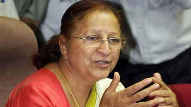 प्रबंधन की डिग्री नहीं होने के बावजूद अच्छी प्रबंधक होती हैं महिलाएं : सुमित्रा महाजन