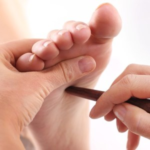 thai foot reflexology massage