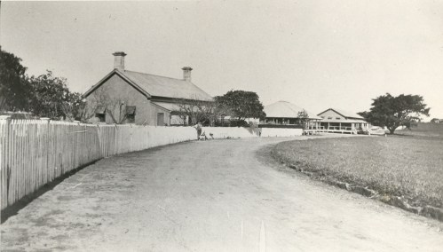 The recreation room sits in between the CW house and barracks. Fiona Pearce Collection, QPWS.