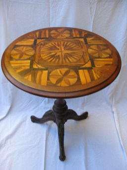James Aird carved table 2