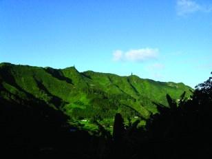 The peaks, St Helena Island