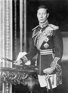 King George VI, St Helena Island