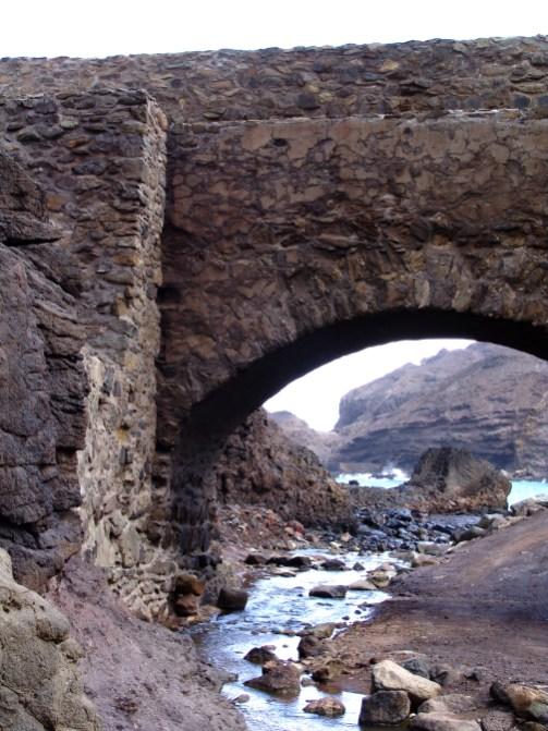 Sandy Bay bridge, St Helena Island