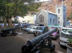 St James Church parade, St Helena Island