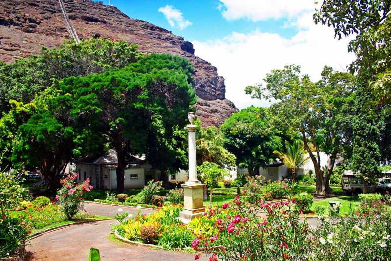 Water Witch Monument, Castle Gardens, St Helena Island