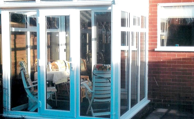 St Helens Windows conservatory renovation.