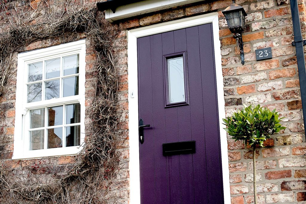 Made Measure Wooden French Doors Exterior