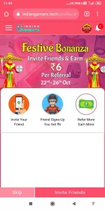 IndianGamers 1-Device Unlimited Refer Bypass Trick