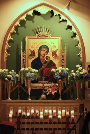 Image result for Our Lady Of Perpetual Help Shrine At Holy Innocents NYC