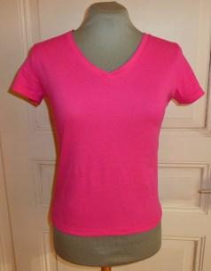 Shirt pink gekürzt Bü
