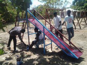 Stichting Care4Gambia. Fayunku school Gunjur