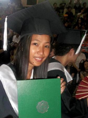 Joy haar diploma stichting Sparrow