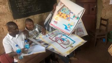 Blije leraren Buwagama lagere school