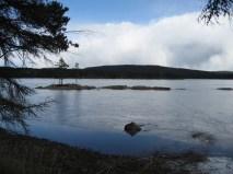 Bredsjön från Tyngsjö kyrka