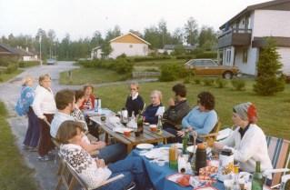 Sigrid Verneus, Anita o Sven Bosäter (f d Jönsson), Per-Åke Olsson, Kurt Persson(?) och min Ingrid