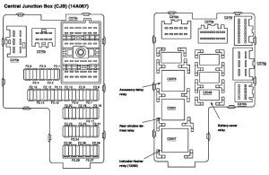 Fuse Box Diagram 2005 Ford Explorer | Fuse Box And Wiring