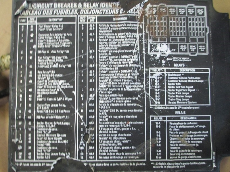 32 Peterbilt 387 Fuse Box Diagram