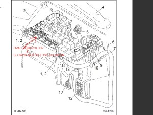 DIAGRAM OF FREIGHTLINER CASCADIA FUSE BOX  Auto Electrical Wiring Diagram