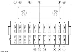 Fuse Box For Ford Fiesta 2006: Image from install the wiring for a dashcam on Ford fiesta from