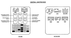 2000 Ford Windstar Fuse Box Diagram | Fuse Box And Wiring