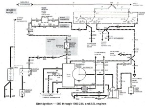 1996 Ford Ltl 9000 Wiring Diagrams Ford Automotive Wiring Diagrams inside 1989 Ford F250