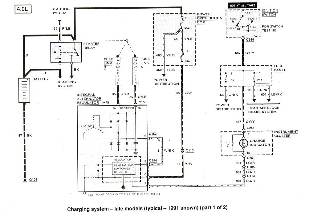 2003 ford explorer ignition diagram  ford  auto parts