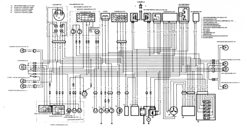 1996 Suzuki Katana 600 Wiring Diagram : 37 Wiring Diagram