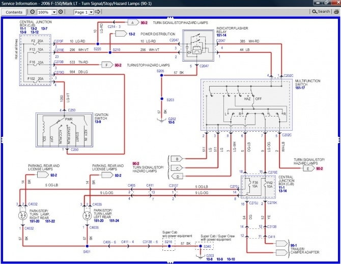 2003 ford f150 trailer wiring harness diagram ford wiring intended for 2003 ford f350 wiring diagram ford trailer wiring harness diagram ford wiring diagrams for diy ford trailer wiring harness diagram at virtualis.co
