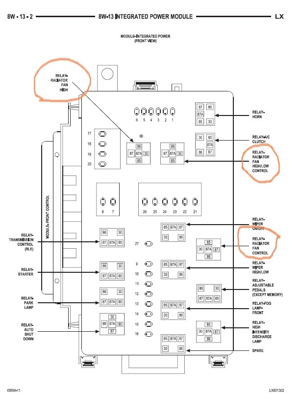 1997 chrysler sebring radio wiring diagram  chrysler  auto