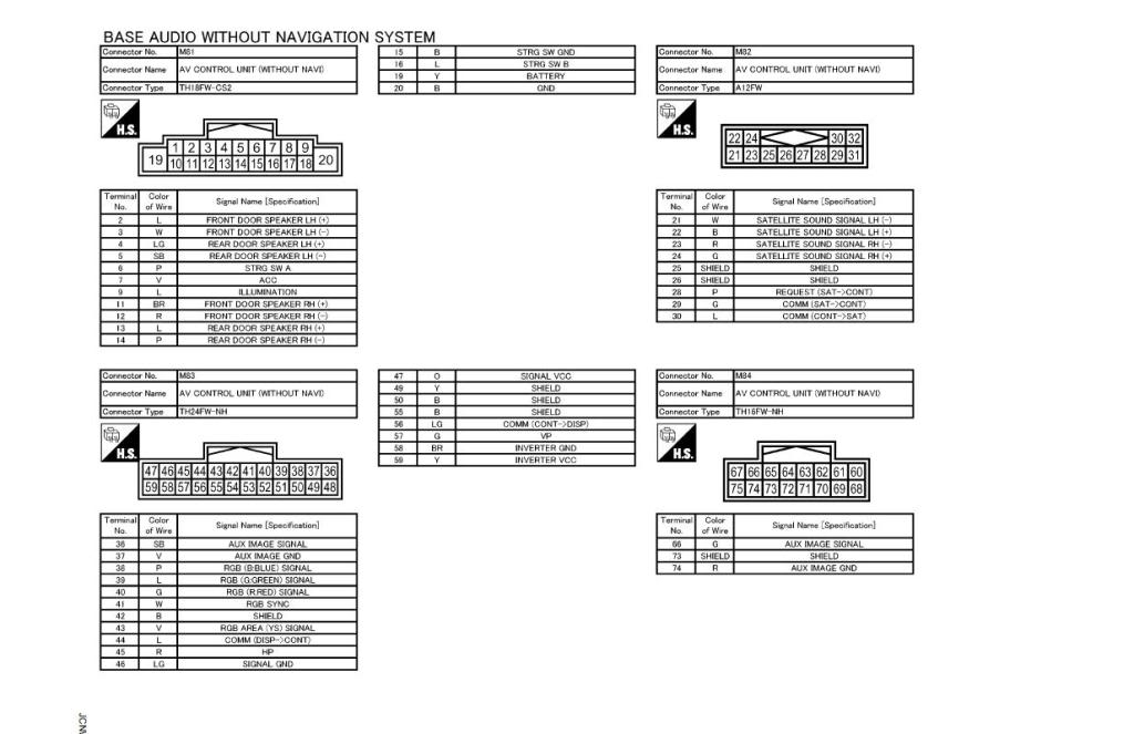 2009 maxima wiring diagram wiring diagram images database intended for 1997 nissan maxima radio wiring diagram nissan frontier stereo wiring diagram on nissan download wirning 2009 dodge ram radio wiring diagram at creativeand.co