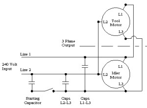 3 Phase Converter Wiring Diagram   Fuse Box And Wiring Diagram