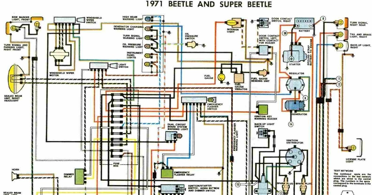 1971 vw super beetle wiring diagram   35 wiring diagram