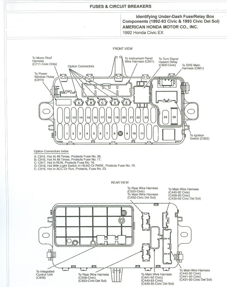 97 honda civic ac wiring diagram wirdig intended for 2000 honda regarding 2000 honda civic headlight wiring diagram 1999 civic fuse box diagram diagram wiring diagrams for diy car 99 honda civic lx fuse box diagram at alyssarenee.co