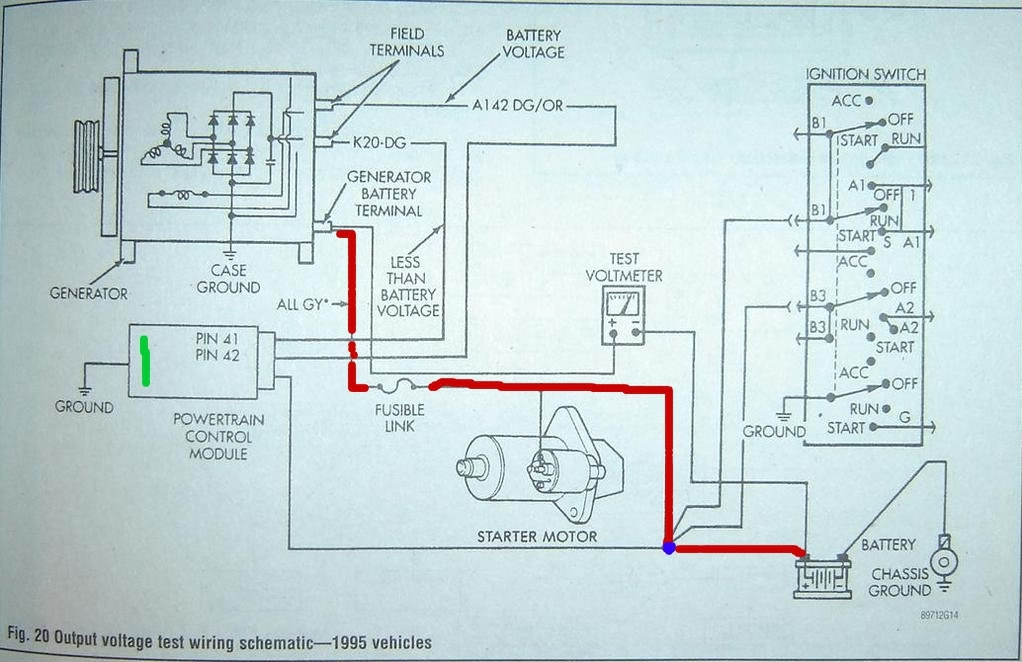 2001 dodge 3500 alternator wiring diagram   41 wiring