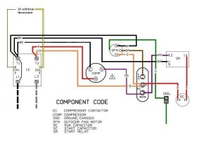 Ac Condenser Fan Motor Wiring Diagram | Fuse Box And Wiring Diagram
